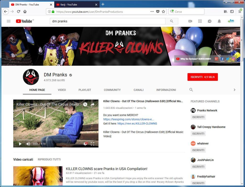 Il canale YouTube made in Italy con più iscritti: DM Pranks