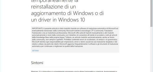 Come impedire temporaneamente la reinstallazione di un aggiornamento di Windows o di un driver in Windows 10